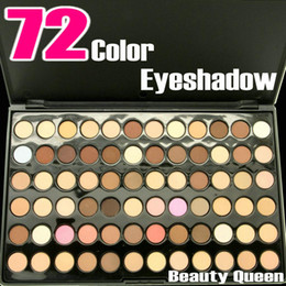 New Professional 72 Warm Color Neutral Nudes EyeShadow Eye Shadow Palette Makeup Cosmetics Kit set