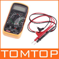 Wholesale Digital LCD Multimeter Voltmeter Ohmmeter Ammeter OHM H1268 black
