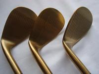 Wholesale golf wedges Grenda D8 wedges gold color