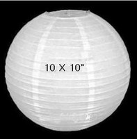 Wholesale 10 White Chinese Paper Lanterns Wedding Decorations quot PL001W quot