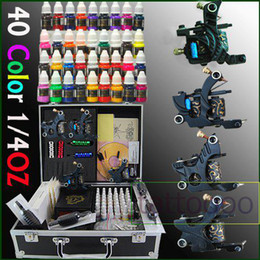 Wholesale Professional Tattoo Kits Machine gun Inks from Tattoooo D69
