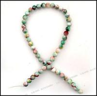 Wholesale Round Jade Gemstone Natural Loose Beads Fit Jewelry DIY mm