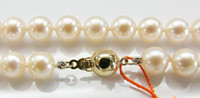 Wholesale AAA quatity Akoya pearl Seawater pearl necklace to MM quot k