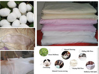 Wholesale 100 super soft quilt pure natural Mulberry Silk quilt bedding set cover