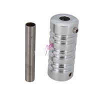 alloy aluminium grip - High Quality Aluminium Alloy Tattoo Grip with Back stem Fully Autoclavable Professional Srips Tattoo Supplies SilverH01074