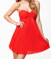 bandeau style dress - Summer Women Dress New Sexy Fashion Pleated Bandeau Padded Style Party Dress B4762