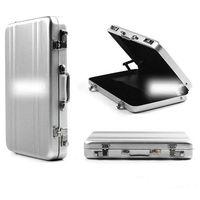 aluminium cardcase - Aluminium Cool Metal Password Type Business Cardcase Bank ID Card Holder Name Card Case Jason0677