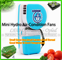 air conditioning leads - grow fans Hydro Air Condition Fans for grow box grow tent super partner with led grow light