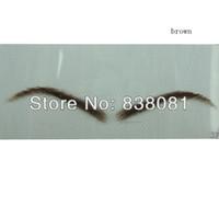 artifical eyelash - natural hair eyebrow artifical eyebrow fake eyebrow eyelash extensions