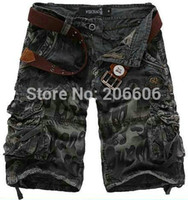 best cargo shorts for men - Best selling summer hot casual loose cargo shorts for men multi pocket men s shorts colors