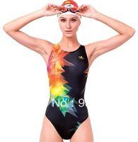 achat en gros de yingfa nager-Gros-yingfa 993 impression femmes numériques maillots de bain triangle de bain des femmes fastcolours professionnels porter acide durable combinaisons de course résistant