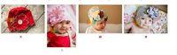 Crochet Hats beret clips - Top Baby girl hat headband barrette headgear kids berets chapeau dicer beanie hair clip hoody flower