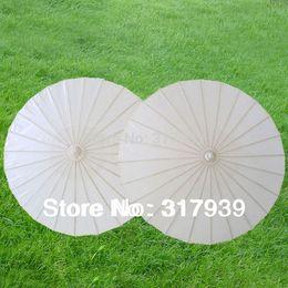 Wholesale-[I AM YOUR FANS]Free Shipping 30pcs lot paper umbrellas Adult size white color