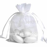 Wholesale White Organza Bags Size x12 cm Wedding Favors Party Gift Bag