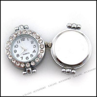 Wholesale Fashion Rhinestone Beading Quartz Watch Faces x24mm Fit Jewelry Making