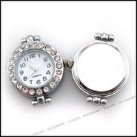 Wholesale Fashion Rhinestone Beading Quartz Watch Faces x24mm Fit Jewelry Making