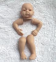 achat en gros de reborn baby-Gros-bébé Reborn kits très vinyle souple en silicone tête 3/4 jambes d'armes pour 20 à 22