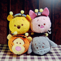 bee figures - slot new arrival TSUM TSUM BEE Original Easter tiger donkey pig plush toys action figures
