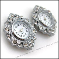 Wholesale Fashion Rhinestone Beading Quartz Watch Faces x27mm Fit Jewelry Making