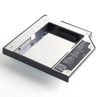 Wholesale 2nd HDD caddy for Apple MacBoook MacBook pro SATA to SATA
