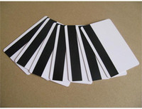 Wholesale 100 Standard Blank White PVC Cards w HiCo Mag Strip New