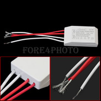 Wholesale New AC V W LED Lamp Halogen Light Power Supply Driver Electronic Transformer