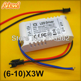 Wholesale-5pcs lot, LED 6-10X3W outside driver, 18-30W external led driver for down lamp ceiling lamp, 3W power LEDs lighting trasformer
