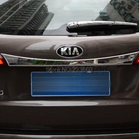 Wholesale Fit For KIA Sorento Chrome Rear Trunk Lid Cover Trim exterior accessories trunk cover decoration tail gate protector