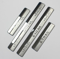 Wholesale High quality stainless steel Scuff Plate Door Sill For X TRAIL