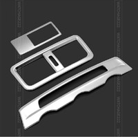 air free surrounds - FIT FOR MAZDA ATENZA CHROME DASHBOARD AIR VENT COVER TRIM GARNISH MOLDING SURROUNDING