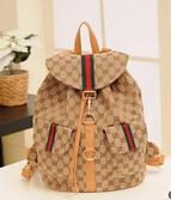canvas backpacks - New vintage women backpack famous brand women bag fashion canvas backpack preppy style travel bag school backpacks