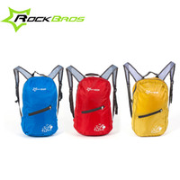 Wholesale RockBros Tour de France Leisure Outdoor Cycling Bike Bicycle Waterproof Ultra thin Soft Breathable Portable Folding Backpack Bag