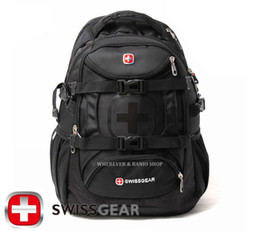 Wholesale-New fashion 2015 Men Swissgear Backpack Camping Hiking travel backpack tactical military Wholesale Laptop bag M215 from military style laptop manufacturers