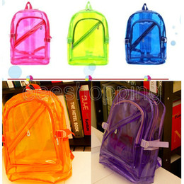 Discount Kids Clear Backpacks | 2017 Clear Backpacks For Kids on ...