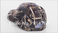 Wholesale JUNGLE MAN TACTICAL PAINTBALL OUTDOOR BIONIC REAL TREE CAMOUFLAGE BASEBALL CAP