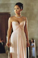 maid in manhattan dress - Sexy Strapless Sweetheart Bridemsiad Dress by Jennifer Lopez of Maid in Manhattan Celebrity Dresses