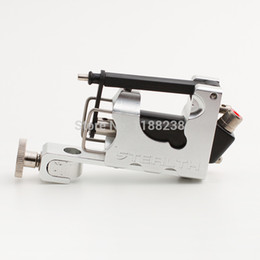 Wholesale Electric Tattoo Machine Alloy Stealth Rotary Tattoo Machine Liner Shader Silver with Box Set