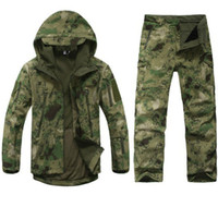 hunting clothes - Outdoor Military Army Traje Camuflaje Camouflage Suit Men s Combat Hunting Uniform Wargame Camping Fishing Paintball Clothing