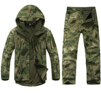 Wholesale Outdoor Military Army Traje Camuflaje Camouflage Suit Men s Combat Hunting Uniform Wargame Camping Fishing Paintball Clothing