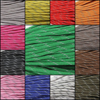 Wholesale New ft Core lb Reflective Strand Parachute Cord Survival Lanyard Paracord