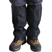 Wholesale Pair Waterproof Hiking Climbing Trekking Snow Legging Gaiters Leg Cover
