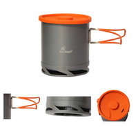 anodized cookware - Fire Maple FMC XK6 L Portable Heat Collecting Exchanger Pot Anodized Aluminum Outdoor Camping Picnic Pot Cookware Cup