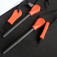 Wholesale New Arrival Ferrocerium Flint Fire Starter FireStarter Lighter Magnesium tool Survival Kit for hunting camping