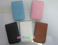 Wholesale Soft Flip PU Leather case cover pouches pouch skin cases for Itouch iPod Touch th
