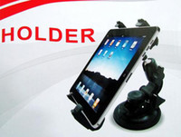Wholesale Universal Car Mount Holder for Apple iPad ipad2 iPad OR Tablet PC OR GPS with retail package