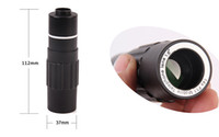 Image Stability Universal  12x Zoom Telescope Lens Telephoto Clamp Holder Universal For Mobile Cell Phone Camera OS604