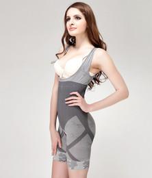 Wholesale-New Womens Body Suit Control Underbust Slimming Shapewear Body Shaper Vest Suit 22