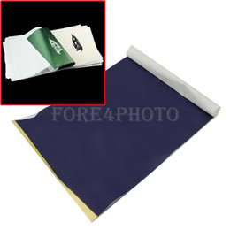 Wholesale Set Sheets High Quality Tattoo Carbon Transfer Copier Paper Stencil Master