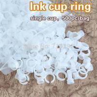 Wholesale bag Profession Permanent Makeup Pen Ink Cup Ring