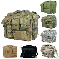 Wholesale Men s Travel Bags Shoulder Bags Molle Outdoor Sport Rucksack Laptop Camera Mochila Military Tactical Messenger Men